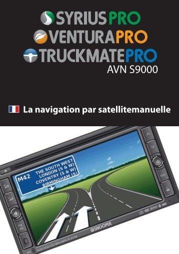 AVN S9000 - Snooper France