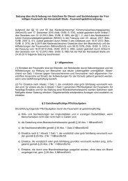 Satzung über die Erhebung von Kostenersatz und ... - Stadt Stade
