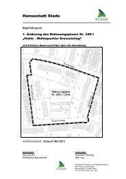 Begründung - Stadt Stade
