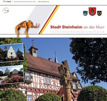 Stadt Steinheim an der Murr Informationsbroschüre