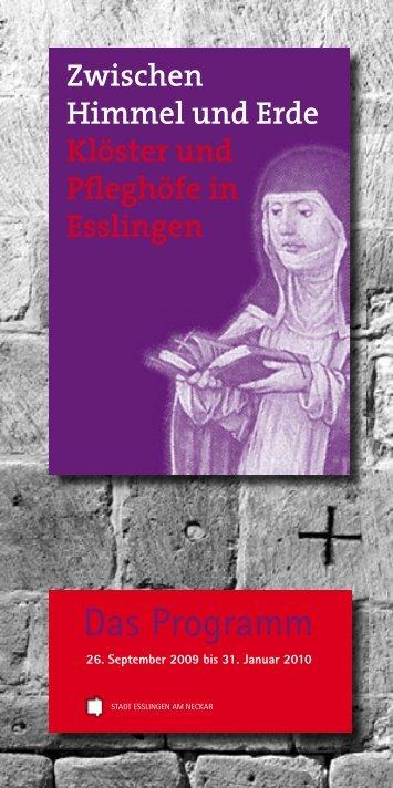 Das Programm - City Esslingen