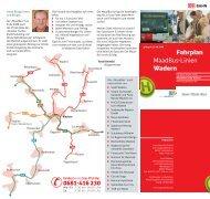 Fahrplan MaadBus-Linien Wadern