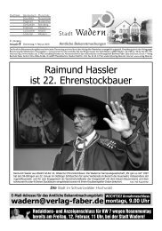 Rosenmontagsumzug in Lockweiler, 15. Februar, 14.11 Uhr - Wadern
