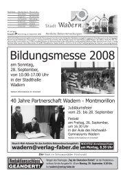 musikalischen Herbst in Noswendel am See - Wadern