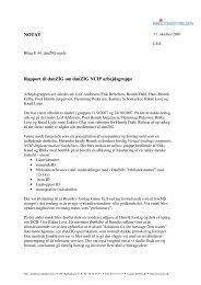 NOTAT Rapport til danZIG om danZIG NCIP ... - biblstandard