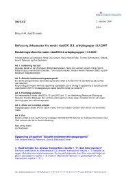NOTAT Referat og dokumenter fra møde i danZIG ILL ... - biblstandard