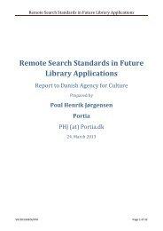 Remote Search Standards in Future Library ... - biblstandard