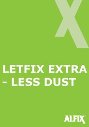 less dust - F.wood-supply.dk