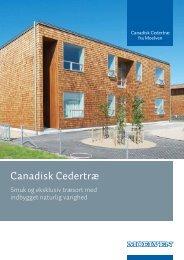 Cedertræ brochure, 32 sider 2MB - Moelven