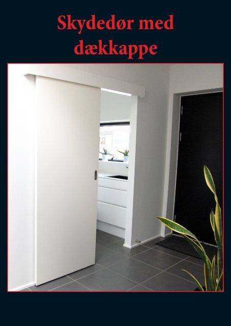 Monteringrulleskinne m/kappe - Døre