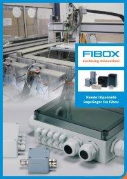 Kunde tilpassede kapslinger fra Fibox - F.wood-supply.dk