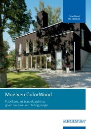 Moelven ColorWood - F.wood-supply.dk