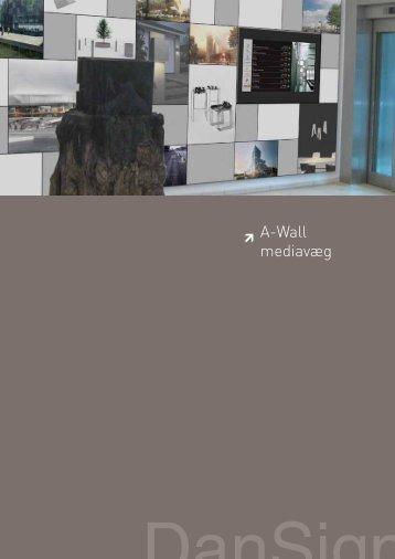 A-Wall mediavæg - F.wood-supply.dk