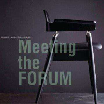 forum - Brdr. Andersen Møbelsnedkeri