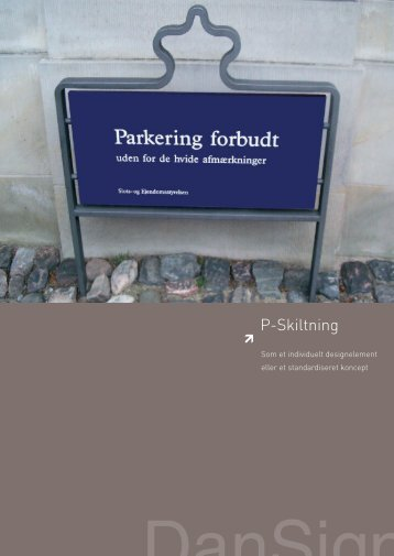 P-Skiltning - F.wood-supply.dk