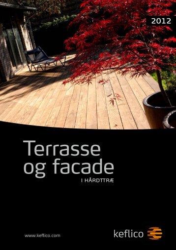 Terrasse og facade i hårdttræ 2012 - Keflico A/S
