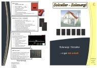 Solenergi / Solceller - vi gør det enkelt - F.wood-supply.dk