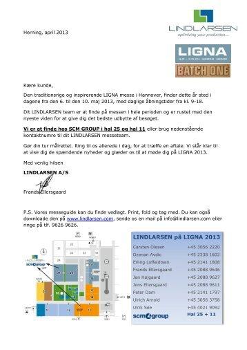 LINDLARSEN på LIGNA 2013 - F.wood-supply.dk