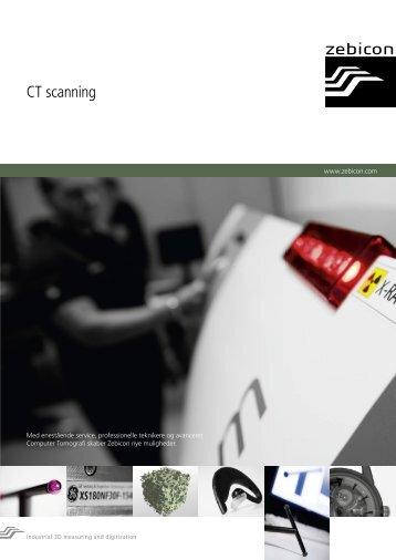 Brochure om CT scanning - Zebicon
