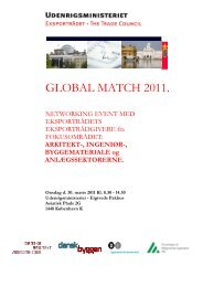GLOBAL MATCH 2011. - F.wood-supply.dk