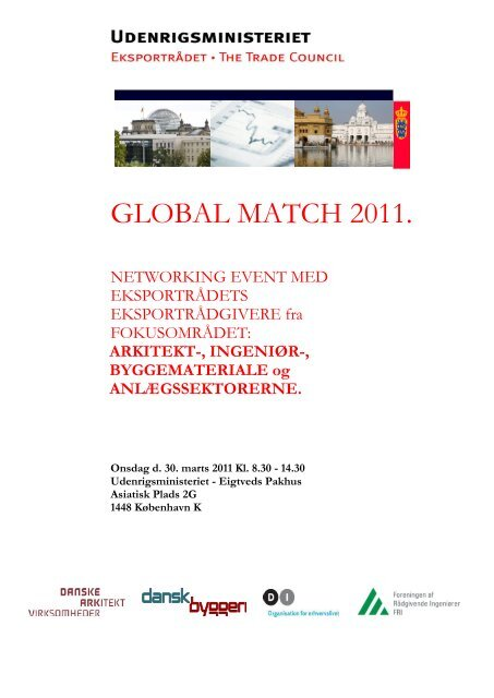 GLOBAL MATCH 2011. - F.wood-supply.dk