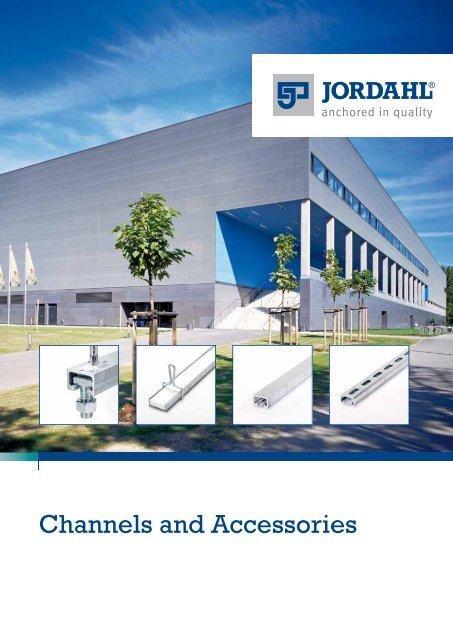 JORDAHL Channels and Accessories - Pretec