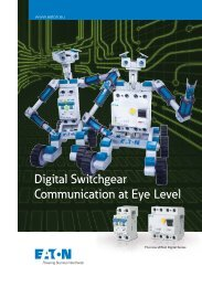 Digital Switchgear Communication at Eye Level - F.wood-supply.dk