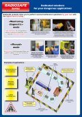 RADIOSAFE People protection when performing ... - ComSystem A/S - Page 2