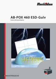 NDUSTRIGULVE I AB-POX 460 ESD-Gulv - Rockidan