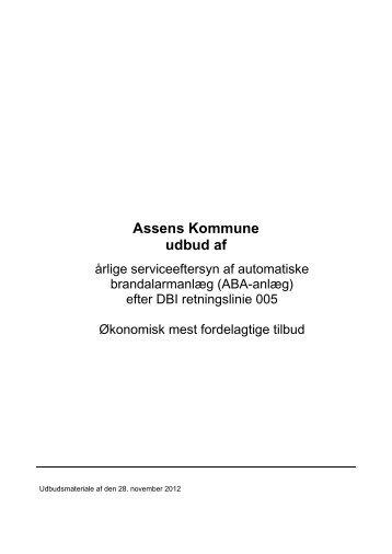 Assens Kommune udbud af - F.wood-supply.dk