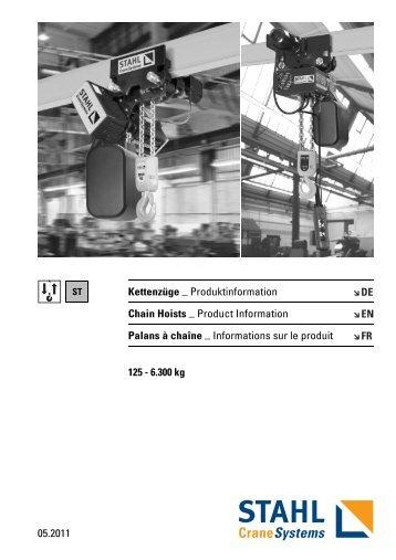 Chain Hoists - KPK spol. s ro, Martin