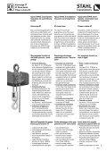 Chain Hoists - KPK spol. s ro, Martin - Page 6