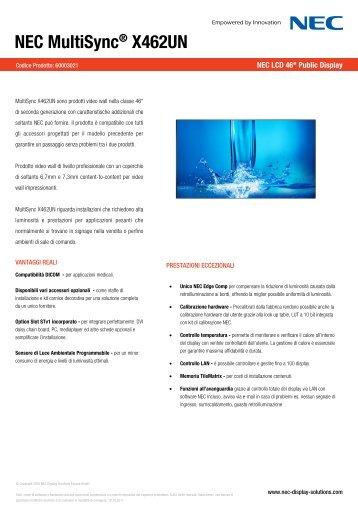 NEC MultiSync® X462UN