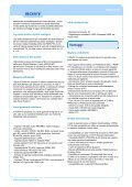 Manufacturer Data Sheet Sony PDWF75 XDCAM HD [ 93 Kb] - Page 2