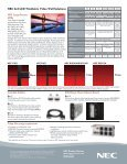 NEC 2x2 LCD TileMatrix™ Video Wall Solutions - NEC Display ... - Page 2