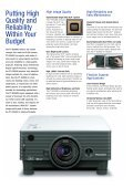 PT-D3500U - All Video System S.r.l. - Page 2
