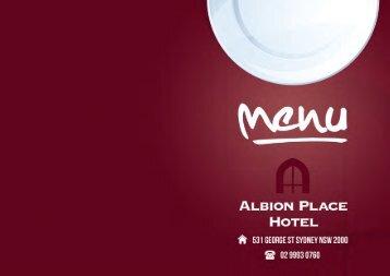 ALBION PLACE HOTEL - Media Suite