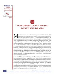 music, dance and drama - The National Institute of Open Schooling
