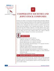 Lesson 4. Cooperative Societies and Joint Stock Companies.
