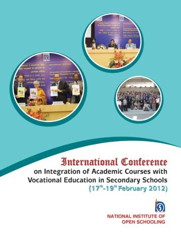 Conference Report - The National Institute of Open Schooling