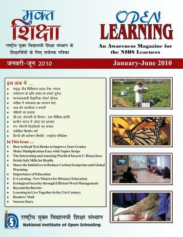 Open Learning Jan-June -2010 - An Awareness Magazine