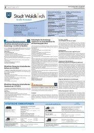Amtsblatt der Stadt Waldkirch vom 28.11.2013