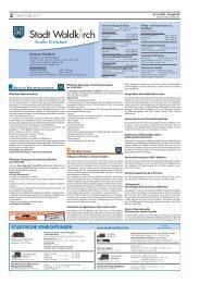 Amtsblatt der Stadt Waldkirch vom 06.06.2013