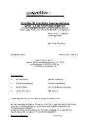 Protokoll zur Sitzung vom 16.5.2013 - Stadt Wetter