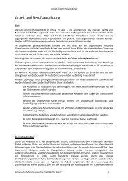 Kapitel für den Aktionsplan (95 KBytes) - Stadt Wetter