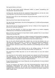 Rede Ehrenamtsbeauftragte (10 KBytes) - Stadt Wetter