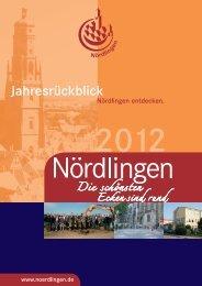 Jahresrückblick 2012 Teil1 - Stadt Nördlingen