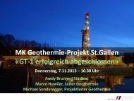 Präsentation Medienkonferenz vom 7. November ... - Stadt St.Gallen