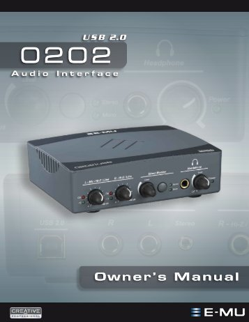 Owner's Manual - Juno Records