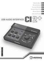 CI2+ Operation Manual - Steinberg